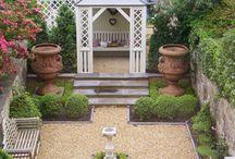Formal courtyard
