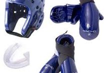 Equipment / Everything from gi's to pads to sparring gear to mouth guards to sports bags!