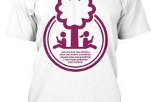 T-Shirts Mundo de Livros / T-Shirts Mundo de Livros