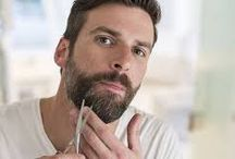 Treat Your Beard to A Cleansing Facial / Is your beard in need of some TLC? Treat yourself to a spa-like experience and give yourself a beard facial! With organic beard shampoo, hydrating beard conditioner, scented beard oil, and beard balm that's formulated to grow, repair, and strengthen your beard! Proudly made in Colorado.