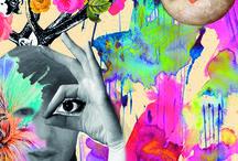 THE ART IN ME / su di me collage e Surrealist art.