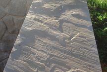 case in pietra arenaria / Pavimenti e rivestimenti in pietra naturale arenaria