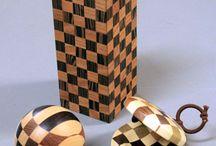 Wooden mosaic | Yosegi | Makie