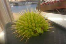 My decorative fruit-presentations
