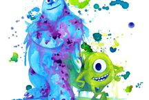 Disney målningar