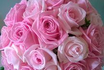 bruidsboeket roze / bridalbouquet pink