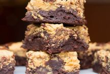Brownies of Ooey Goodness. / Because sometimes a cookie just doesn't satisfy. Because sometimes my cookies get lonely. Because sometimes my huge glass of milk laughs at my cookies. (You choose one) / by Shawnte McQueen