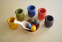 Montessori scooping activities