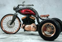 Motorcycle - Trikes and Quads / by John Kowalski