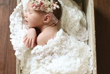Newborn shoot girl