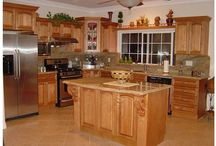 Kitchen cupboards / by Marcy Larson
