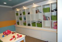 Craft/kids playroom