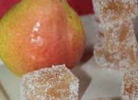 pâte de fruits aux poires