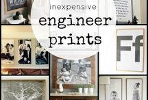 engineer prints / by Susan Sproc