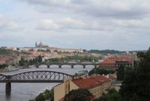 Prague from Sunrise to sunset