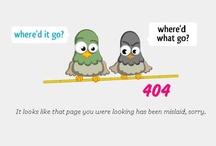 Błędy 404 - Page Not Found