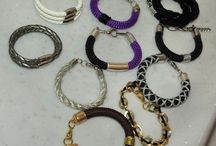 Handmade jewels / Easy handmade rope bracelets and necklaces, for the lovers of crafting, which also satisfy womens vanity