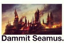 Potterheads Unite! / HARRY POTTER!!! ALWAYS!!!! One of my favourite fandoms!! Love it. / by Izzy Malfoy