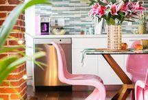PINK kitchen / Rózsaszín konyhabútor