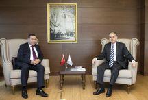KKTC Başbakan Yardımcısı Serdar Denktaş ve Heyeti Kabulü