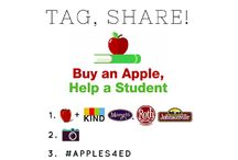 Apples4Education / Nothing pairs better with apples than education. Through November 15, we're donating $ to one of 11 student causes in need of support. All you have to do is snap a photo of your favorite apple (+ pairing!),  upload it on Instagram using #Apples4Ed and tag one of our causes. You can view all eligible causes at Apples4Ed.com. Happy snacking and snapping! #Apples4Ed