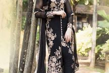 Latest collection of churidars & salwars / Find the latest collection of churidars & salwars, Dress materials   stitched and unstitched here. Find the favorite color salwar kameez suits.