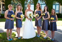Royal Blue & Yellow Creations / Royal Blue & Yellow Floral Ideas http://ahappilyeverafterfloral.com/