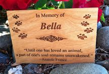 Lovely Gifts / Some of our custom and handmade gift products for pet lovers and friends!