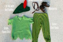 Peter Pan and Tinkerbell DIY Halloween Costume Ideas