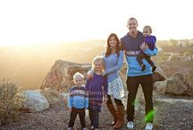Wardrobe Ideas: Family Photo Shoots / by Jen CYK Photography