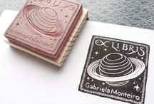 rubber stamps - crafts & stationary