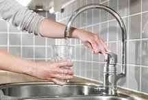Vand og vandhaner | Water and taps / vandforbrug, vandkvalitet, spareråd m.m.