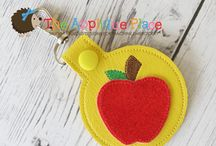 In The Hoop Embroidery - Key Fob - Designs