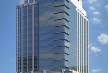 Office Buildings / Unique, modern office buildings.