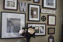 My photo wall ideas
