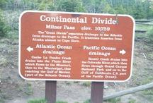 Continental Divide Trail / by 45N 68W Inc.
