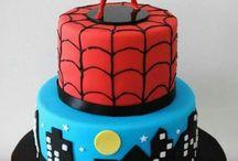 Spiderman cake ideas