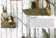 Ideer med træ/træer