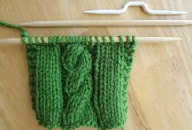 knitting / by Ingrid Olson Margason