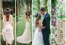 Boho Wedding Gowns
