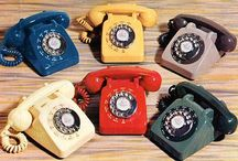 Vintage phones / Lovely old phones and advertising to dream upon or as a source to hunt down your own favorite style.