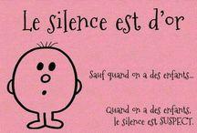 le silence et d'or...