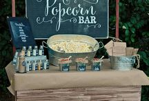 candy stand wedding