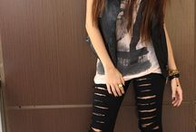 roupas rock feminino