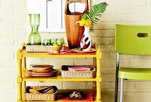 Repurposing Ideas {Kitchen} / Upcycling and repurposing ideas for your kitchen including, decor, storage, and organization.