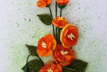 paper arts - quilling / quilling / by Mariruth Brown