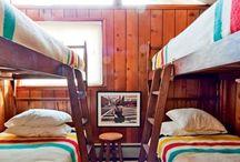 cabin decor / by Corrie Hooykaas