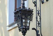 Фонари, наружное освещение