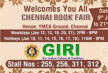 GIRI's Stall @ Chennai book Fair