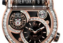 Luxury watches.